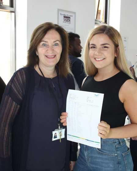 Thomas Clarkson GCSE Results Day: Holly Keeley