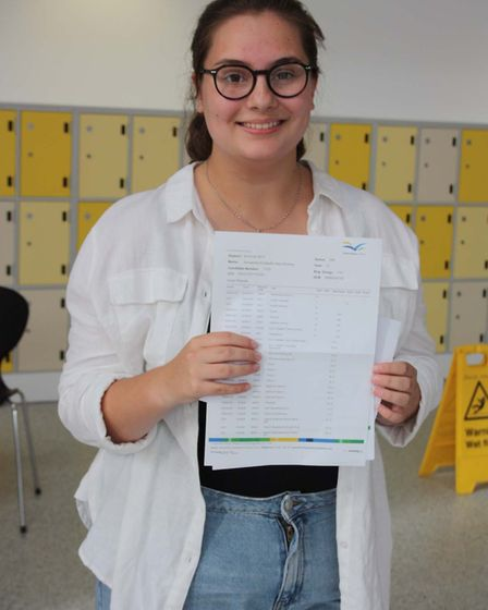Thomas Clarkson GCSE Results Day: Annabelle Holmes