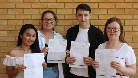 Thomas Clarkson GCSE Results Day: Students celebrate