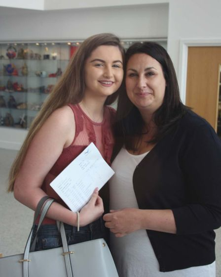 Thomas Clarkson GCSE Results Day: Caria Curren