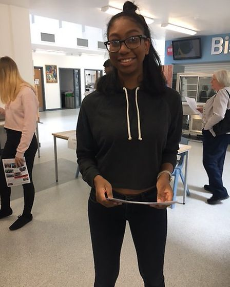 Alarna Foster got exceptional GCSEs and is the captain of the athletics team