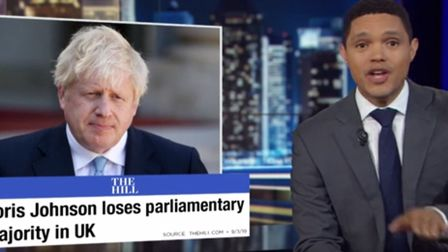 Daily Show's Trevor Noah on Brexit. Photograph: YouTube