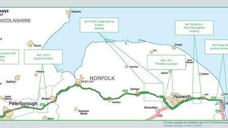 Proposals for upgrade of A47