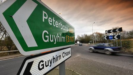 Guyhirn on the A47 Picture by Rob Howarth/Stella Pictures Ltd 07768 285551 20/02/2017
