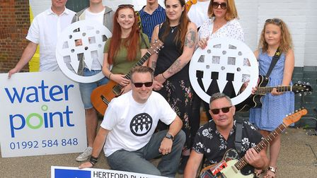 The launch of this year's Musical Mystery Tour in Hertford [Picture: Steve Beeston Photography]