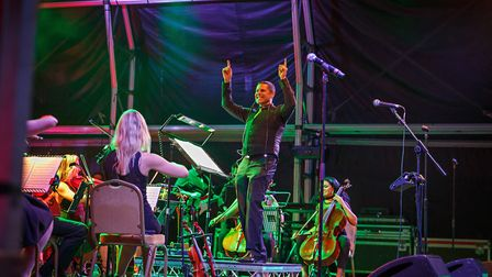 Stephen Hussey will conduct the Urban Soul Orchestra at Classic Ibiza in the grounds of Knebworth Ho