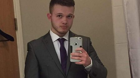 Christopher Fuller died aged 21 in a car accident in Fincham. Picture: Courtesy of David Fuller