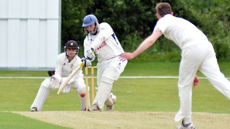 Jamie Gollands took five wickets as Wisbech beat Godmanchester Town by 82 runs last Saturday.