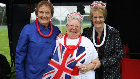 The Great British Prom 2017: Mrs Lowe, Mrs Harper and Mrs Poole enjoy the day out.
