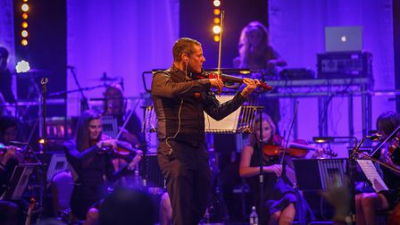 Stephen Hussey of the Urban Soul Orchestra will be performing at Classic Ibiza at Knebworth House [P