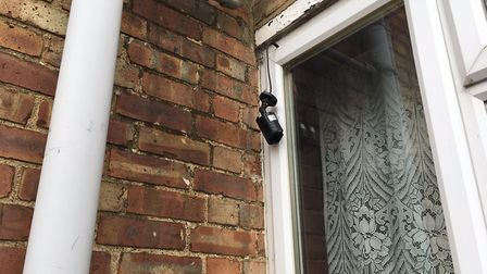 The factory was being monitored using two CCTV cameras: one inside the house and one in the kitchen.