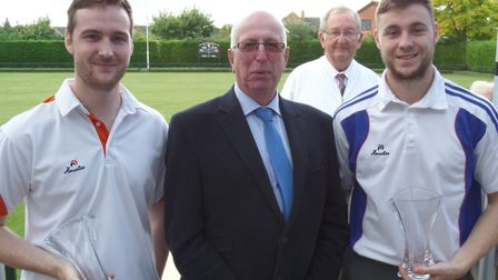 Lewis Parnell, Terry Hawkins, John Fox and Dale Parnell.
