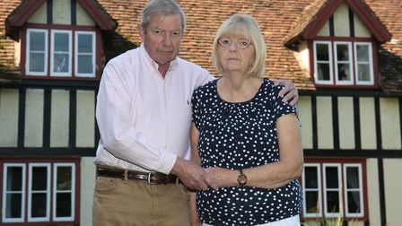 Tom and Doreen Day are raising awareness after a mesh operation ruined her life. Picture: Danny Loo