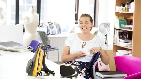 Katie Sykes, 24, from Wisbech, founder of Katherena Bags. Picture: University of Central Lancashire
