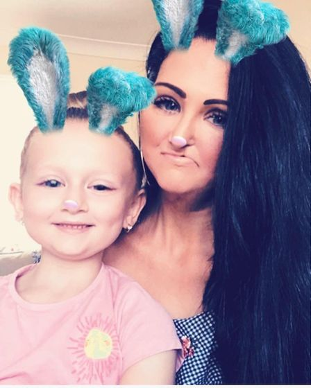 Friends of 'truly amazing, inspiring' young mum Jannine who is battling cancer raise £2,697 so she c