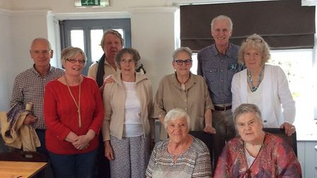 Past pupils from Welwyn Garden City Grammar School enjoyed a school reunion. Picture supplied by He