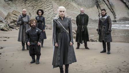 """Game Of Thrones,Series 07 Episode 04 """"The Spoils Of War"""",Starring Conleth Hill as Varys w/ Peter D"""