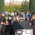 Garden games at Knebworth House as part of the Pumpkin Trail & Treats