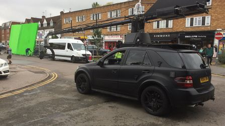Johnny English 3 filming in Welham Green [Picture: William McMahon]