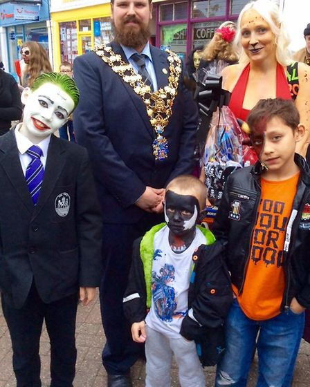 There will be prizes for the best fancy dress costumes at the Wisbech Town Centre Spooktacular Hallo