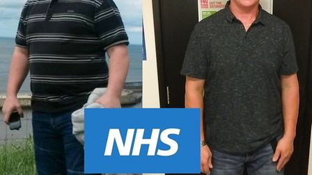 Wayne Lindsell urges people to use free NHS Health Check after being shocked into losing two stone.