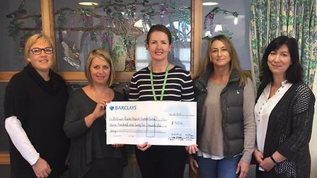 Kim Berry, Lyn Johnson Michelle Knight of the Alan Hudson Day Treatment Centre, Hayley Wakeling and