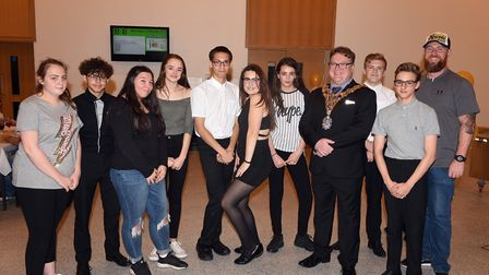 Thomas Clarkson Academy pupils put together a special dinner for guests to showcase their entrepren