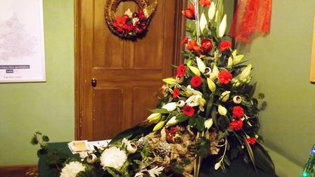 Festive foliage at Peckover House in Wisbech
