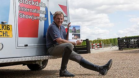 Wisbech pony Sulley crowned biggest character at annual rehoming awards night. Show jumper Tim Stock