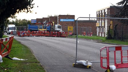 Investigations continue into a sink hole in Weasenham Lane, Wisbech.