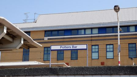 Potters Bar Train Station. Photo: KEVIN LINES