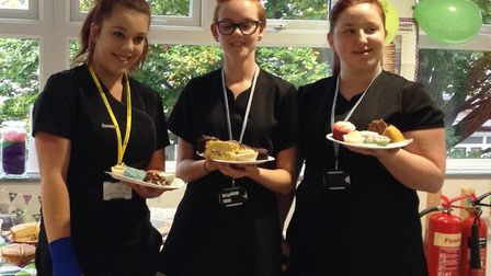 Hair and beauty students at CWA's Wisbech campus raised over £110 by hosting a Macmillan coffee morn