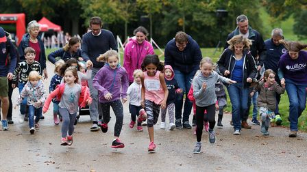 The Tiny Tots Scamper at the Willow 10K [Picture: Christopher Dean / Scantech Media]