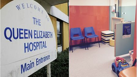 Nurses at the Queen Elizabeth Hospital in King's Lynn are appealing for donations after a number of