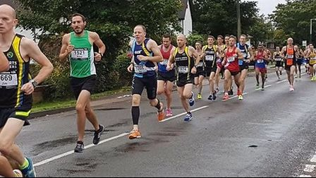 Garden City Runners in action at the Standalone 10K.