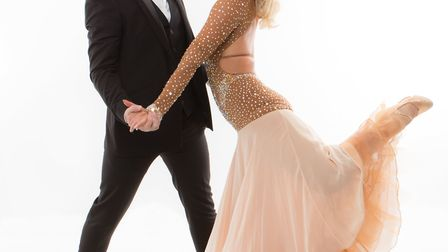 Strictly stars Kristina Rihanoff and Tristan MacManus are coming to Welwyn Garden City [Picture: Eli