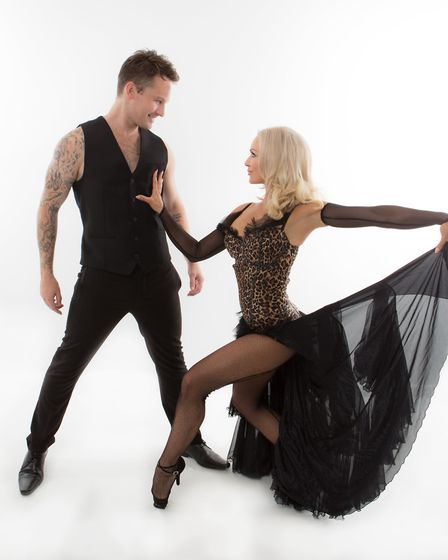 Strictly Come Dancing stars Kristina Rihanoff and Tristan MacManus' show 'An Evening with Kristina R