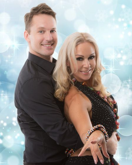 Strictly Come Dancing pair Tristan MacManus and Kristina Rihanoff are coming to Welwyn Garden City