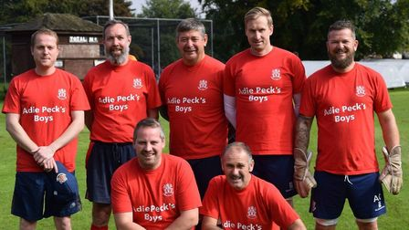 Pecky's Boys at the Adie Peck Memorial Summer Sixes.