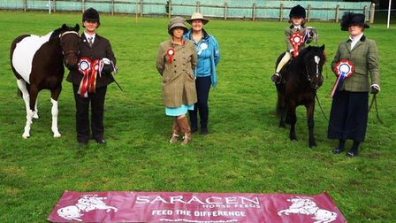Upwell Playing Field Committee hosted their last horse and pony show of the year at the weekend. Pic