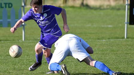 Jack Friend struck his 10th goal of the season in Wisbech St Mary's 3-1 FA Vase win over Wellingboro