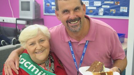Meadowgate Academy students raise £300 for Macmillan by holding coffee morning: Macmillan representa