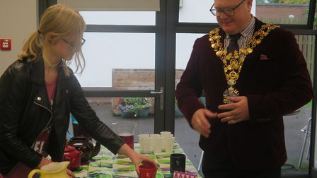 Meadowgate Academy students raise £300 for Macmillan by holding coffee morning: student Shantelle Da