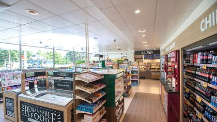 A rough idea of what the Welwyn Garden City store looks like inside. Picture credit: Budgens Opening