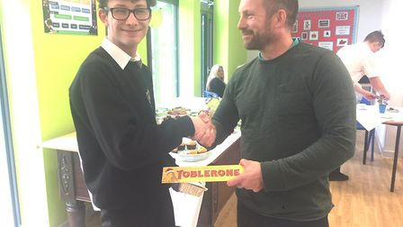 Octavia students in Wisbech raise money for Macmillan with a cake sale