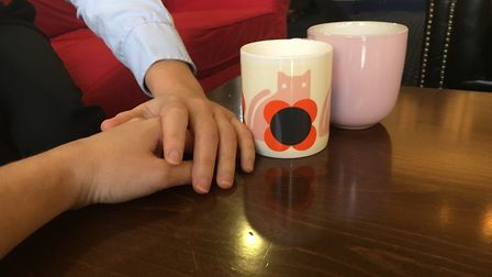 The Chasing Rainbows coffee group meet regularly. Photo: Archant