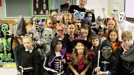 Halloween day at Anthony Curton and Tilney All Saints Primary raises hundreds for Teenage Cancer Tru