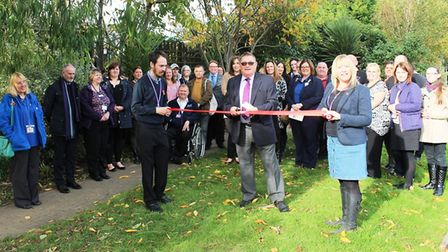 Pledging their support to Community House during the relaunch event were Wisbech town councillors An