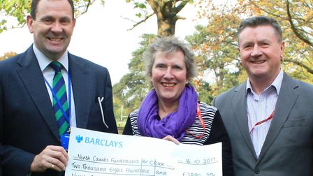 Wisbech Grammar School raised £2,896 for Cancer Research by running or walking a 5k as part of the c