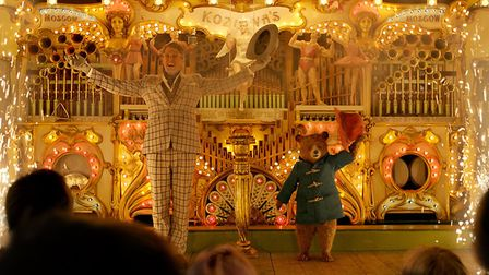 The fairground scene in Paddington 2 was filmed at Knebworth House [Picture: Studio Canal]